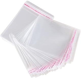 f8421293a AONER 200pcs(7*10cm) Bolsas de Celofán Transparente Plastico Pequeñas OPP  con Cierre