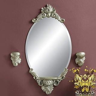 MXD Mirror Bathroom Mirror Waterproof and Moisture-Proof Fashion Gold Wall Mirror Vanity Mirror