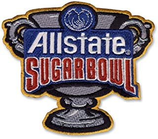 Allstate Sugar Bowl Game Jersey Patch Clemson Alabama (2018)