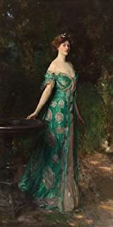Portrait of the Duchess of Sutherland Poster Print by John Singer Sargent (10 x 20)