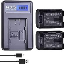 Tectra 1400mAh BN-VG114 Batteries (2-Pack) and LCD USB Charger Kit for JVC Everio GZ-E10 GZ-E100 GZ-E200 GZ-E300 GZ-E505B GZ-EX250 GZ-EX310 GZ-GX1 GZ-HD500B GZ-HM300B GZ-MS110B Camcorder