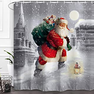 Best shower curtains christmas Reviews