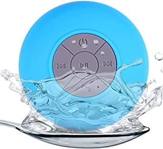 Water Proof Wireless Bluetooth Speaker, Fast Charging, Range Upto 10m, Working Time Upto 24 Hrs, Can be Attached on Wall, ...