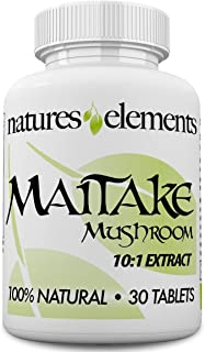 Maitake Mushroom - 1 Month Supply - Powerful 10:1 Maitake Extract - Made in USA