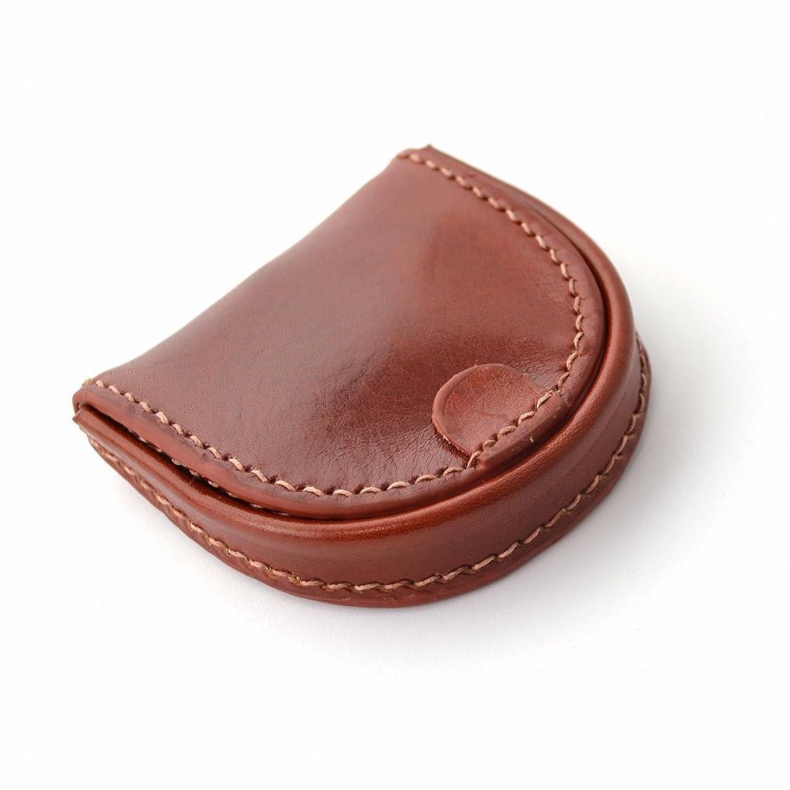 表現各鋸歯状[ハービーアンドハドソン]Harvie&Hudson メンズ 財布 コインケース 馬蹄型 牛革イタリアンレザー 小銭入れ f-2008