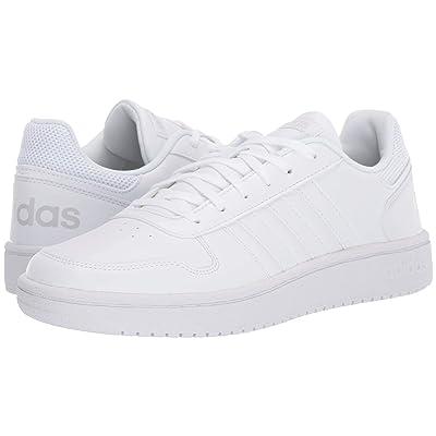 adidas Hoops 2.0 (White/White/White) Women