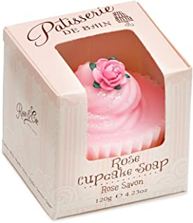 Patisserie de Bain Cupcake Soap Rose