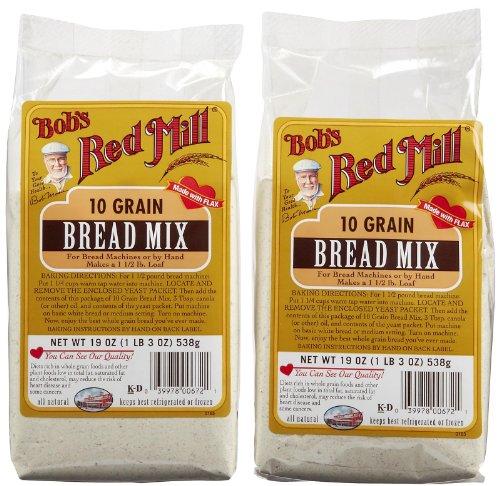 Bob's Red Mill 10 Grain Bread Mix - 19 oz - 2 pk