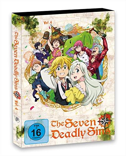 The Seven Deadly Sins - DVD 4 - Episoden 19-24 (2 Discs)