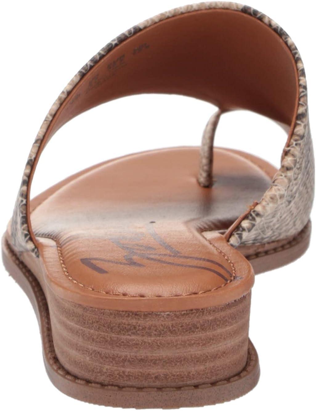 Zodiac Women's Giada Slide Sandal, Natural, 6