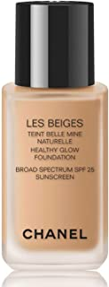 LES BEIGES Healthy Glow Foundation Broad Spectrum SPF 25 Sunscreen, 1.0 oz Color: N 40