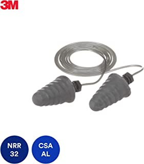 3M E-A-R Skull Screws Earplugs P1301, Corded