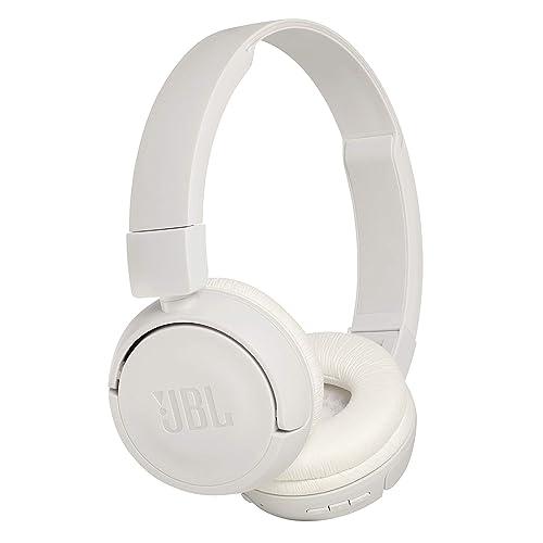 89954d8e7ff JBL Harman T450Bt On-Ear Lightweight Foldable Bluetooth Headphones - White
