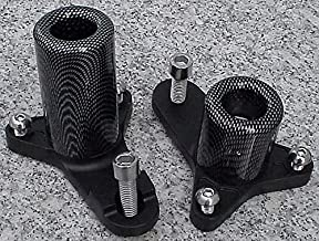 i5 Carbon No-Cut Frame Sliders for Suzuki GSXR600 GSXR750 GSXR 600 750 2011-2018.