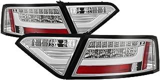 Carpart4u - LED Light bar Tail Light for Audi A5 08-12 - Chrome Clear