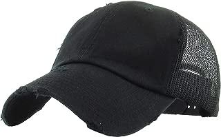 Classic 6 Panel Mesh Cotton Twill Trucker Cap Hat Adjustable Snapback Hat