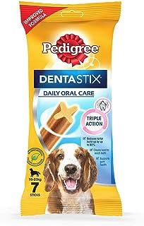 Pedigree Dentastix Oral Care Dog Treat for Medium Breed (10-25 kg), (7 Sticks) 180g Weekly Pack