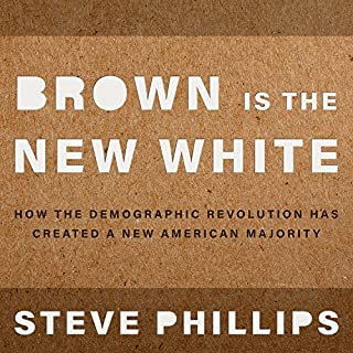 Brown Is the New White audiobook cover art