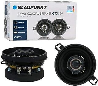 Blaupunkt GTX350 3.5-Inch 200W 2-Way Coaxial Car Audio Speaker, Set of 2 photo
