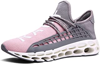 Ahico Mens Fashion Sneakers Casual Breathable Mesh Walking Shoes Lightweight Tennis Athletic Sport Running Shoe for Men