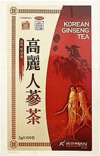 高麗人蔘茶(木箱)100包 ■韓国食品■飲料■韓国茶■高麗人参茶■韓国お茶■健康お茶■