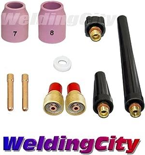 WeldingCity TIG Welding Gas Lens Accessory Kit (3/32