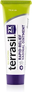 terrasil Rapid Relief Feminine Care Vaginal Ointment for Fast Relief from Yeast Infections Itching and Dryness - 28 gram