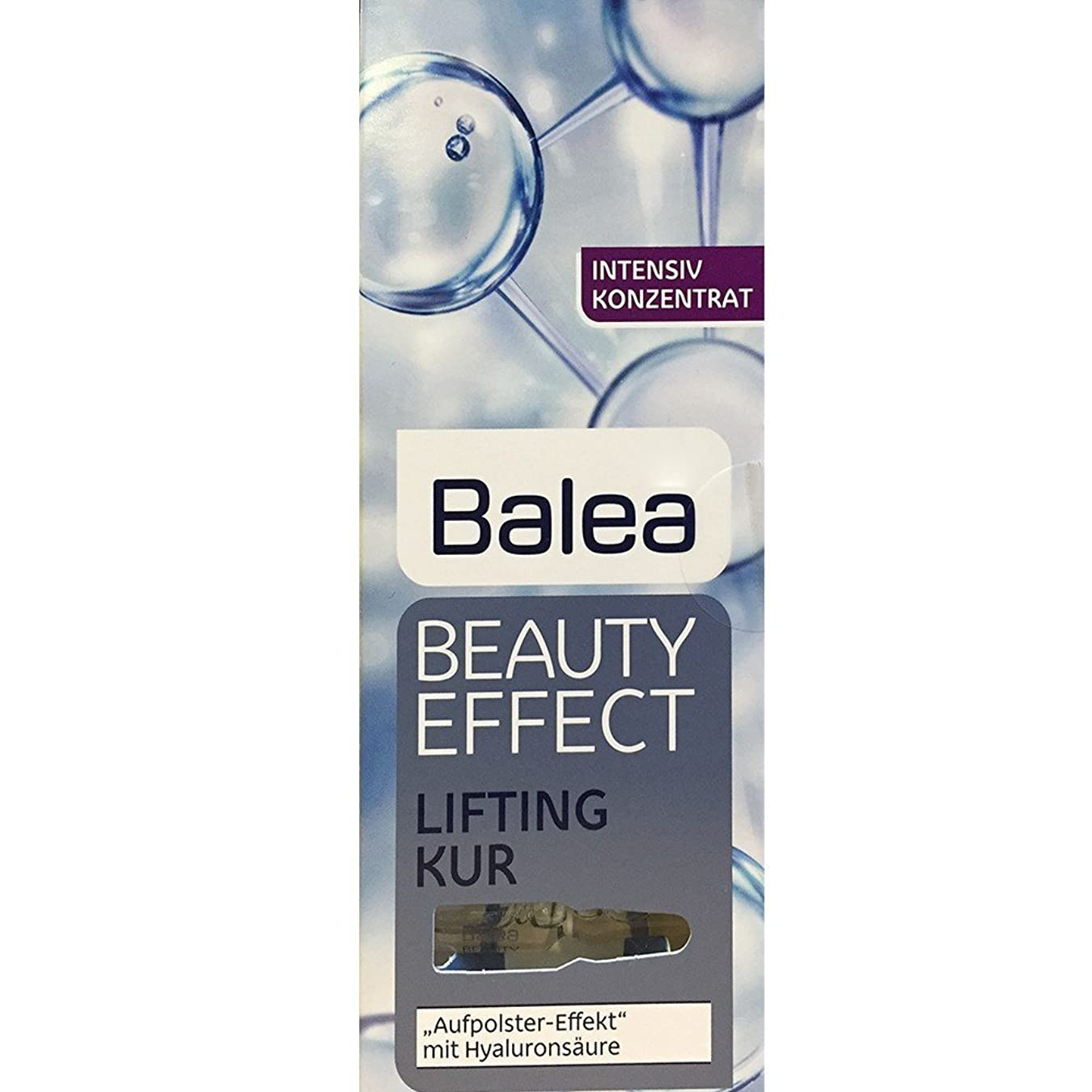 認証生き返らせる倍増Balea Beauty Effect Lifting Kur 7x1ml by Balea