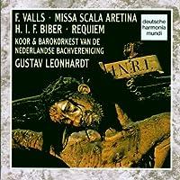 Biber: Requiem/Valls: Missa Scala Aretina/Leonhardt