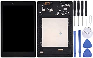 SHUHAN LCD Screen Phone Repair Part LCD Screen and Digitizer Full Assembly with Frame for Lenovo A8-50 Tablet Mobile Phone...