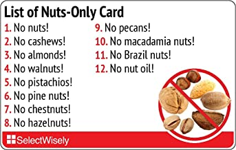 greek nut allergy translation