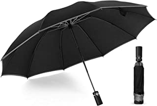 Night Pensive Strips To Ensure Safety, 10 Rows Of Ribs Automatically Undefendable/shut The Umbrella, Travel Portable Windp...