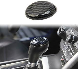 Korlot Carbon Gear Shift Knob Head Cover Trim for Chevrolet Corvette C7 2014-2019 Interior Accessories