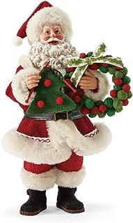 "Department 56 Possible Dreams Santa Claus ""Super Fine Holiday"" Clothtique Christmas Figurine"