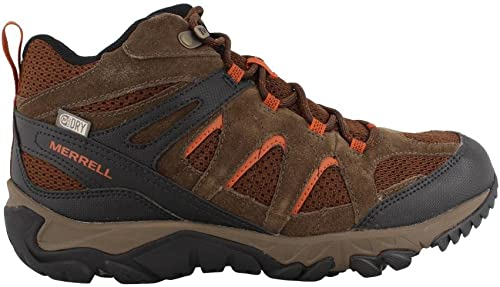Merrell Men& 039;s Outmost Mid Vent Waterproof Hiking Stiefel