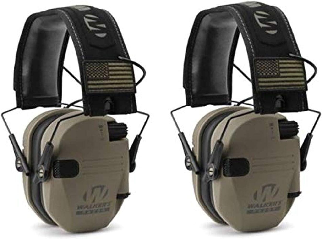 Walkers GWPRSEMPAT Razor Patriot National uniform free shipping Electronic D dB 23 Earmuff Japan Maker New Flat