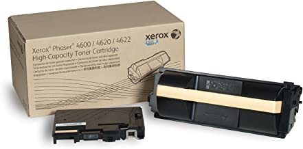 Xerox Phaser 4600/4620/4622 Black High Capacity Toner Cartridge including Waste Toner Bottle (30,000 pages) - 106R01535