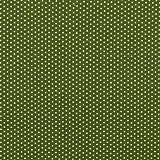 babrause® Baumwollstoff Mini Sterne Tannengrün Webware