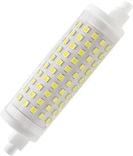 Bombilla LED R7S 118 mm 15 W regulable, Lampara J118 de doble extremo, equivalente a 120 W, reemplazo para lámpara halógena tradicional y reflector de seguridad, Blanco Frio 6000K