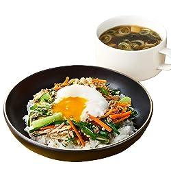 [冷蔵] ミールキット Oisix ジューシーそぼろと野菜のビビンバ 韓国風スープ副菜付き 2人前
