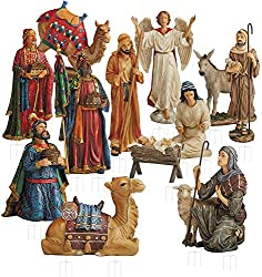 in budget affordable THREE KINGS GIFTS Original Christmas Gifts Intricate 52-inch bright metal outdoor party …