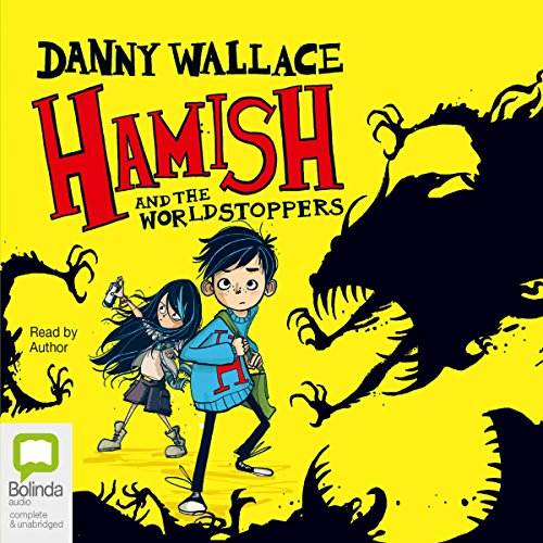 Hamish and the WorldStoppers audiobook cover art