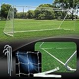 AGORA 8'x24' Semi-Pro Full Size Portable Soccer Goal Kit