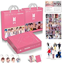 Kpop New Album Bangtan Boys Gift Map of The Soul Personal BTS Army Box with Photo Book Photo Set HD Poster Bookmarke Album (Army Box)