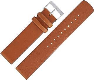 Skagen SKT5104 - Cinturino per orologio, 20 mm, in pelle, colore: Marrone
