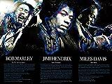 Tri-Seven Entertainment Bob Marley Jimi Hendrix Miles Davis