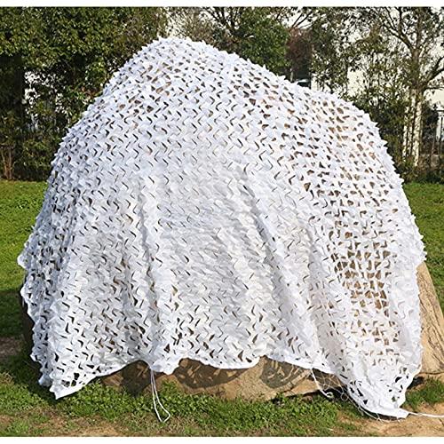 DLLY Tarnnetz Sonnencreme, Militär Sonnensegel, Verwendet Für Gartendekoration, Pergola Schatten, Autoabdeckung, Anti-Aging Weißes Camouflage Netz, 2m, 3m, 4m, 5m,...