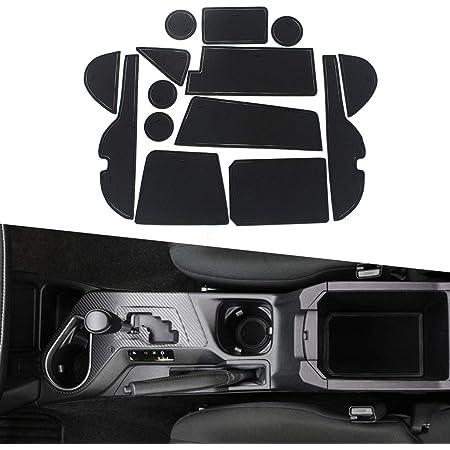 Maiqiken Pad Slot Porta Anti-Polvere Antiscivolo per Mini 2012-2013 Mat Car Interior Tappetini Antiscivolo 7 Pezzi//Set Blu
