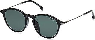 نظارات شمسية بنمط افياتور للجنسين موديل 196/F/S من كاريرا - لون اسود