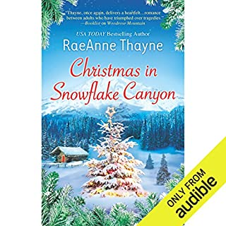 Christmas in Snowflake Canyon audiobook cover art